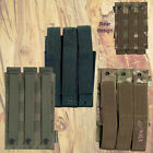 VIPER MULTICAM BLACK OLIVE TRIPLE MP5 MAG POUCH MODULAR WEBBING AIRSOFT ARMY