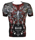 Konflic NWT Men's Rock Star Graphic MMA Muscle T-shirt