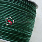 "3mm 1/8"" Forest Green Velvet Ribbons Craft Sewing Trimming Scrapbooking #165"