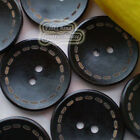 Dark Brown Ring 2 Hole Wood Buttons Sewing Scrapbooking 15mm,20mm,30mm,35mm C007