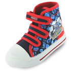 Boys SIZE 5 - 10 Blue Thomas the Tank Engine Baseball Boots Trainers Velcro NEW