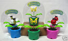 Solar Powered Dancing Plant With Bugs Insectes Dansants Solaires Multi-Color