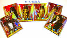 Choose Your Doctor Who ALIEN ARMIES Super Foil Rare Cards PANINI FE1 to F20