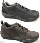 MENS CATERPILLAR CAT UTILIZE LEATHER CASUAL OUTDOOR LACE UP TRAINERS SIZE 6-12