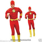 C183 The Flash Muscle Chest Justice League DC Comics Halloween Adult Costume