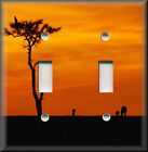 Light Switch Plate Cover - Serengeti Sunset - African Home Decor