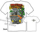 67 Chevelle Rat Fink T Shirts 1967 Chevy Tee Dangerous But Bad Sz M L XL 2XL 3XL