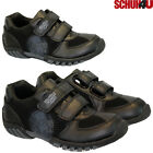 NEW THE SIMPSONS BOYS BLACK SHOES KIDS INFANTS VELCRO TRAINERS BACK TO SCHOOL