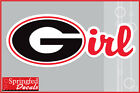 Georgia Bulldogs G-IRL Vinyl Decal #1 UGA Car Sticker PICK A SIZE! GEORGIA GIRL