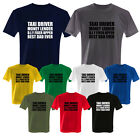 TAXI DRIVER MONEY DIY BEST DAD EVER FATHERS DAY NOVELTY T SHIRT ALL SIZES S-2XL
