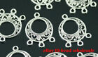 New Arrival 14pcs tibetan silver earring connector findings