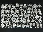 Wholesale 100pcs Bulk Lots Tibetan Silver Mix Pendants Charms Y38