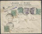 Lybia 1921 MIXED franked R-cover Tripoli D'Africa to Rotterdam  RR