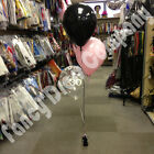Birthday Party Helium Balloon Cluster DIY Kit - Black & Baby Pink Age 18 21 30