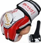 MMA Grappling Gloves Boxing Punch Bag Fight Cage Muay Thai Rex Leather Gloves