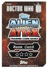 Doctor Who Alien Attax Topps *CHOOSE YOUR CARD* Base Card 110-139