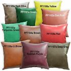 PF Faux Leather Faux Ostrich Skin Plain Cushion Cover/Pillow Case*Custom Size*