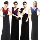 Ever Pretty Women's Stretchy V-neck Long Formal Evening Prom Gown Dresses 09051