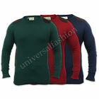 Mens Jumper Brave Soul Knit Top Sweater Cord Patches Pullover Crew Neck Casual