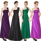 Ever-Pretty One Shoulder Open Back Long Bridesmaid Dresses Evening Gowns 09667