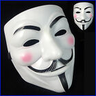 V For Vendetta Guy Fawkes Mask Anonymous Halloween Bonfire Night Masquerade