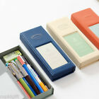 Iconic Cube Pencase Pencil Pen Pocket Case Tray Magnetic One Touch Pouch Bag