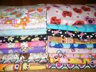 handmade double flannel baby/toddler blankets girls group 1