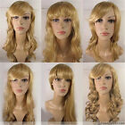 [US] Vogue Women's Long Hair Full Lace Wigs High Temperature Fibre Pure #27/613