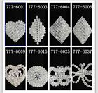 Hot CHOOSE Fashion 777 MORE Style Big Size Queen Clear Crystal Rhinestone Rings
