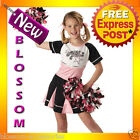 CK64 All Star Cheerleader Sports Girls Halloween Fancy Dress Up Party Costume