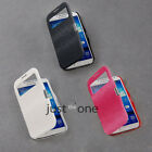Samsung Galaxy S4 i9500 Smart Magnetic Synthetic Leather Flip Hard Cover Case