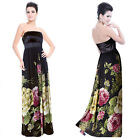 Ever Pretty Strapless Floral Printed Empire Line Padded Evening Dress 09719
