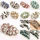 Wholesale Crystal Rhinestone Rondelle Spacer Beads Fits European Charms Bracelet