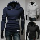 Mens Stylish Slim Fit Sexy Tops Designed Hoody Coats Jackets 3 Colors New WST