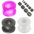 ear expanders set Acrylic Tunne double flared plugs Earring Stretcher 6Pcs 9HVL