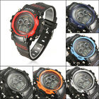 30M Waterproof LCD Multi-function Digital Alarm Sports Outdoor Mens Wrist Watch