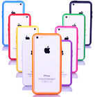 Durable Color TPU Silicone Frame Case Bumper Skin Cover Protection for iPhone 5C