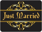 JUST MARRIED Car Magnets WEDDING SIGN Banner