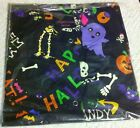 Lab coat Lab Jacket Warmup Halloween Skeletons, caldrons, Them Bones, Ghosts