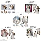WEDDING DECOUPAGE-1  MIXED WEDDING DECOUPAGE(SEPT 2013)FREE POSTAGE)MY CREATIONS