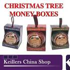 H&H Personalised Money Boxes Names I - Z Christmas Tree Decoration Birthday Gift