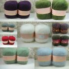 Wholesale! Luxury Angola Mohair Cashmere Wool Yarn Skein Lot;Fine;42 Colors!