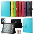 Magnetic Folio PU Leather Case Cover With Stand For Apple iPad 1 1st Generation