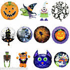 Haunted Halloween Horror Foil Supershape Round Balloon Balloons  PA