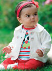 3pcs Girl Baby Kids Warm Owl Top Coat+T-shirt+Pants Trousers Outfit Clothing Set