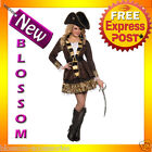 C873FN Buccaneer Queen Pirate Swashbuckler Halloween Fancy Dress Adult Costume