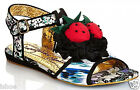 WOMENS IRREGULAR CHOICE OH MATRON CASUAL FLORAL SUMMER SANDALS SHOES SIZE 2-10