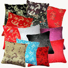 (Eb) Dragon Phoenix  Aster Oriental Rayon Brocade Cushion Cover/Pillow Case