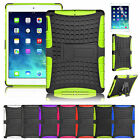For Apple iPad Air 5th 5 Hybrid Rubberized Dual Layer W/Stand Hard Cover Case