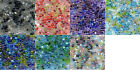 25g Japanese Miyuki 5/0 triangle seed bead mix - choice of colour mixes